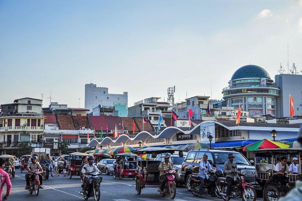 Circuler à Phnom Penh