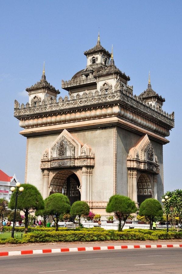 Le Patuxai au Laos