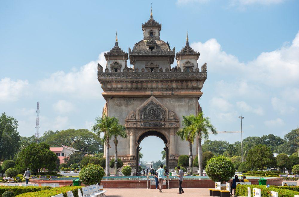 Patuxai au Laos