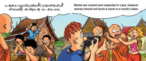 Pas touche aux moines