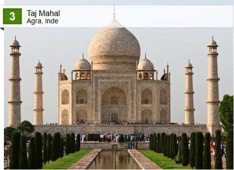 Crédit photos: Taj Mahal - Trip Advisor