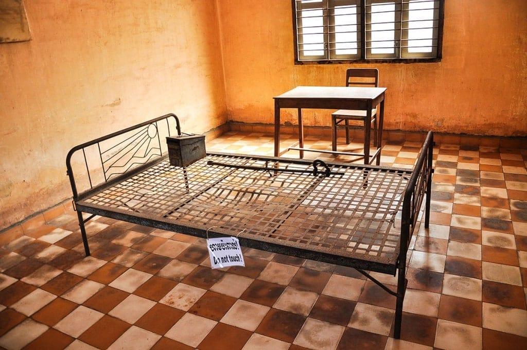 Chambre de torture Tuol Sleng
