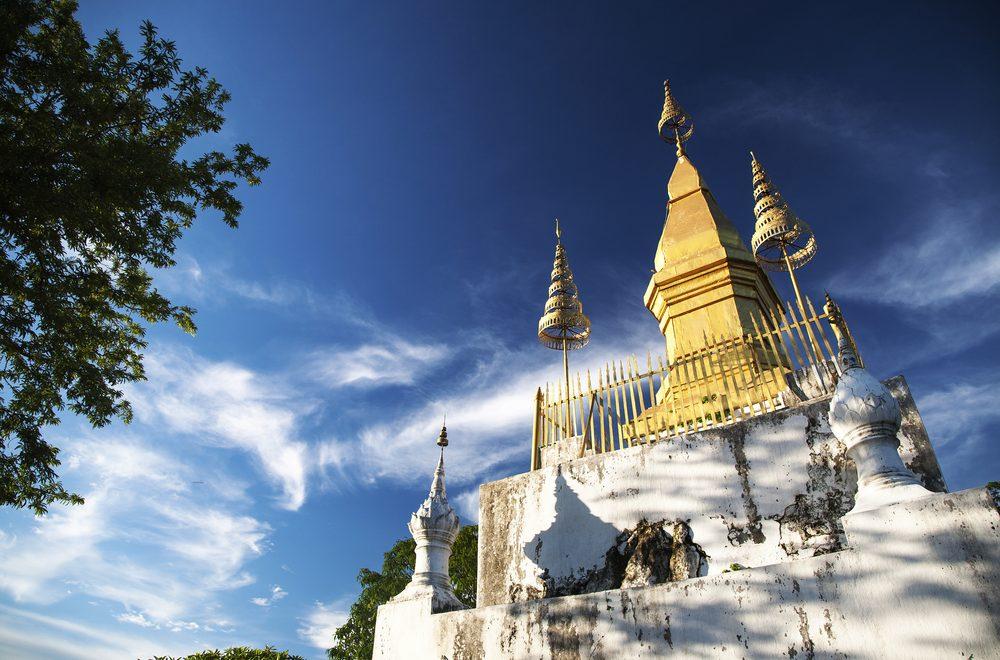Ma visite du Mont Phousi à Luang Prabang au Laos