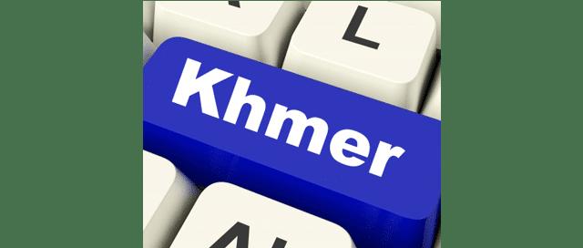 clavier -khmer