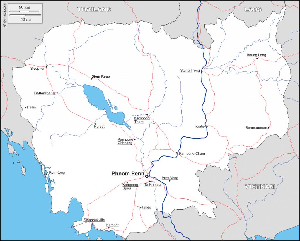 carte-cambodge-principales-villes
