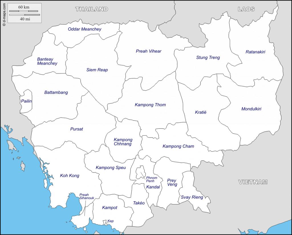 carte-cambodge.province