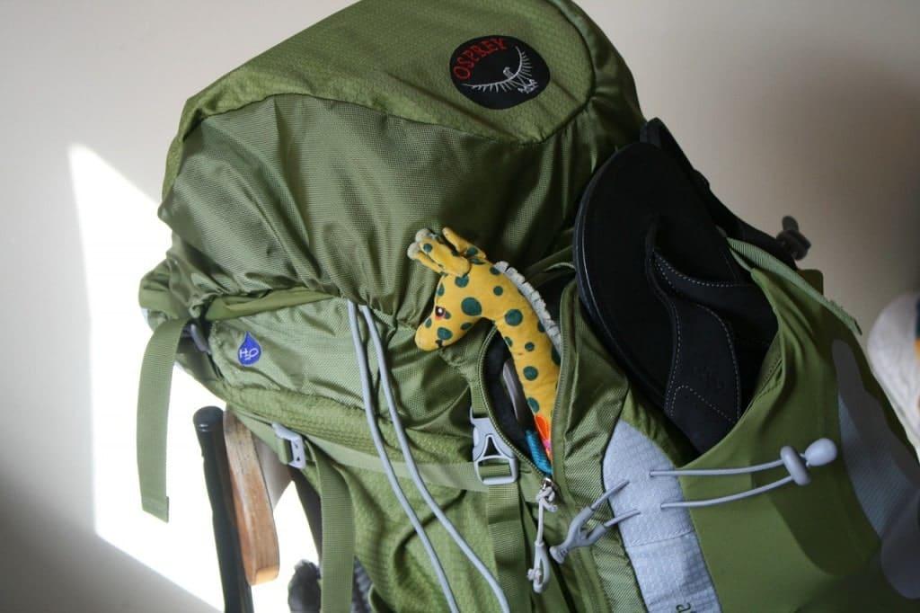 Quelle taille pour le sac à dos