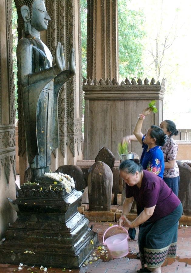 Nouvel an lao PiMai et khmer Chaul Chnam Thmey