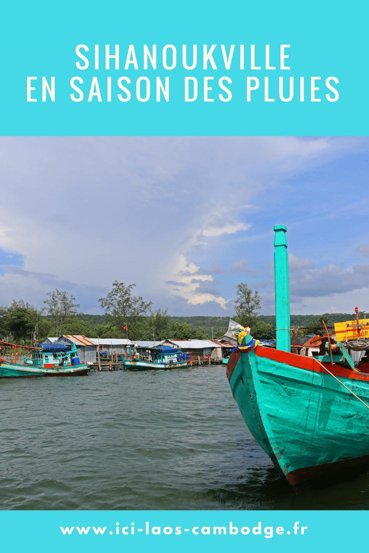 Sihanoukville en saison des pluies