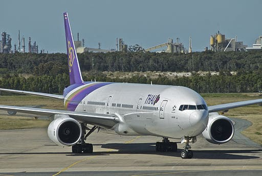 J'ai testé le vol Bruxelles Bangkok Thaï Airways