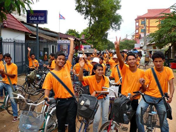 Sala Baï, donner des ailes aux jeunes cambodgiens
