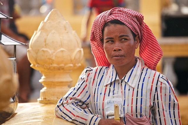 Le krama, un symbole national du Cambodge