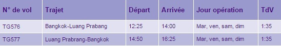 horaires-thaiairways-luangprabang