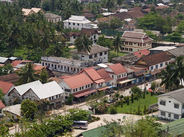 Maisons à Luang Prabang