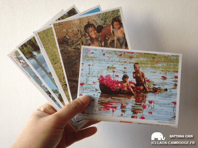 Cartes postales Siem Reap