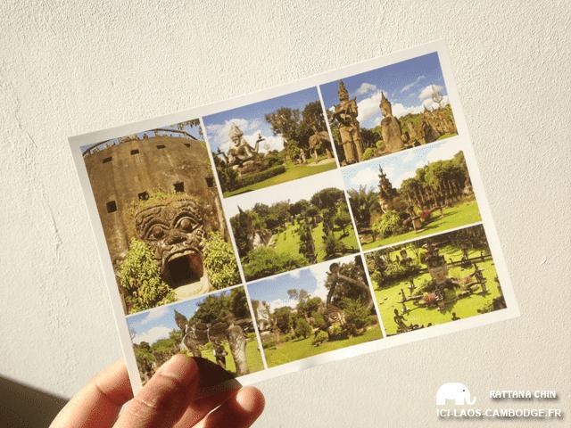 Envoyer des cartes postales du Laos