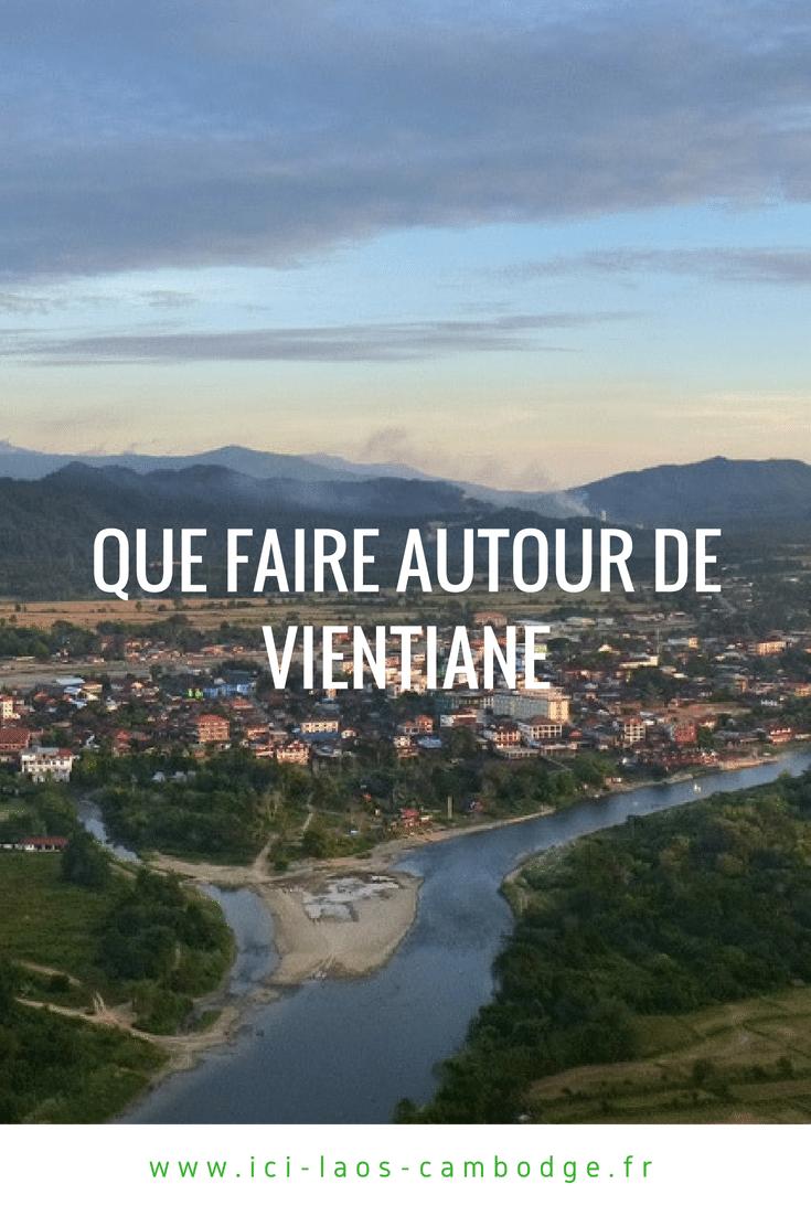Que faire autour de Vientiane