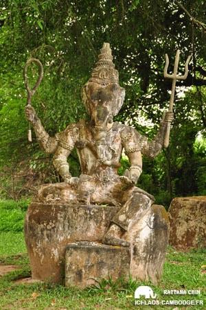 Statue à buddha park