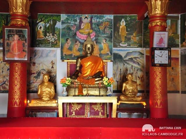 Wat Pa Phon Phao - Bouddha