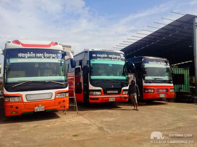 J'ai testé Phnom Penh à Battambang en bus avec Mekong Express