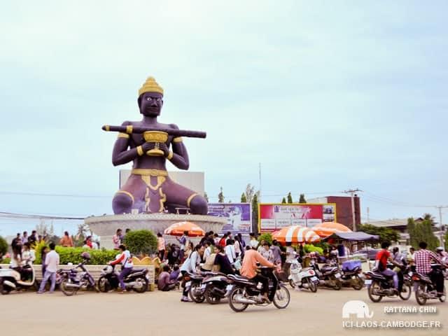 Statue Dambang Kranhoung