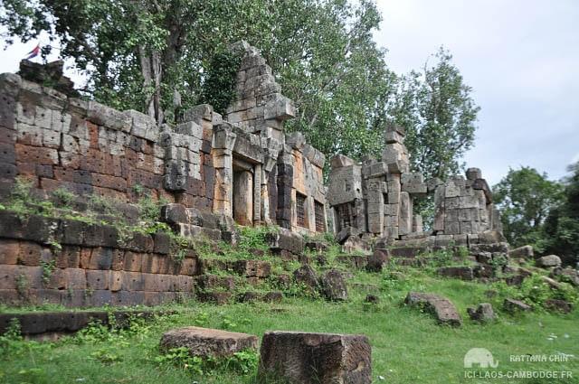 Ruines du Wat Ek Phnom