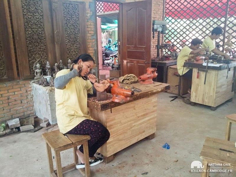 Artisan à Siem Reap - que faire à siem reap