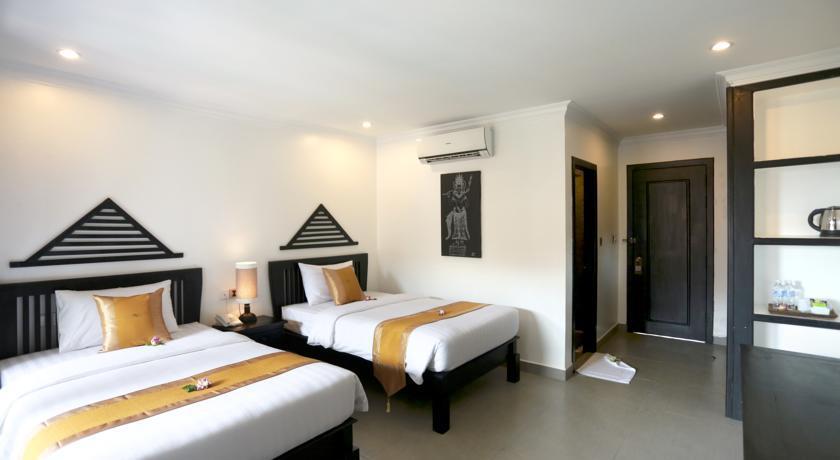 Chambre lits jumeaux Khmer Mansion Boutique Hotel