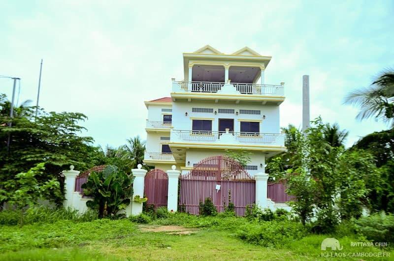 Maison à Battambang