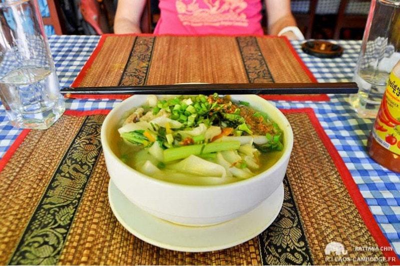 Petit déjeuner Khmer