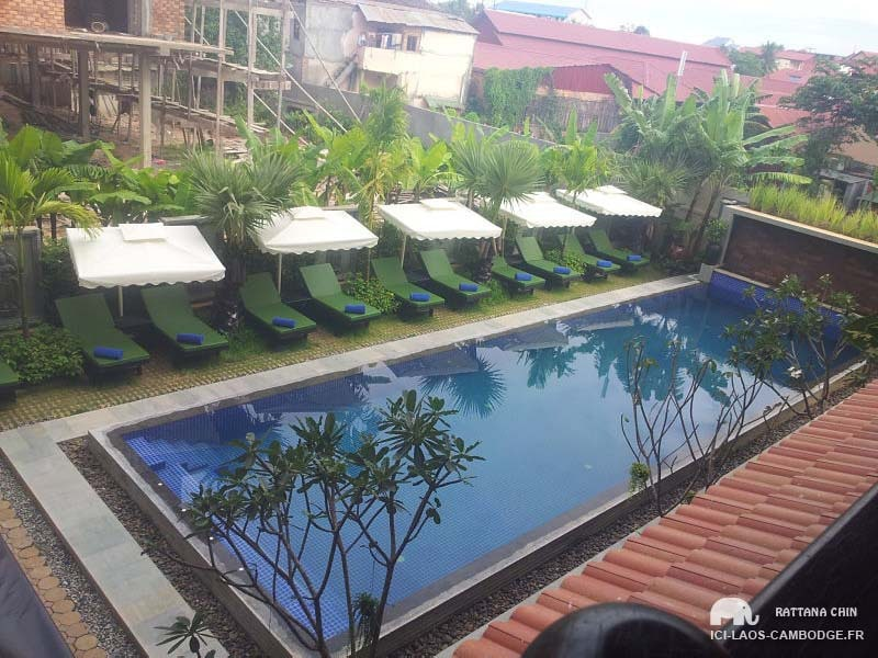 Piscine Khmer Mansion Boutique Hotel