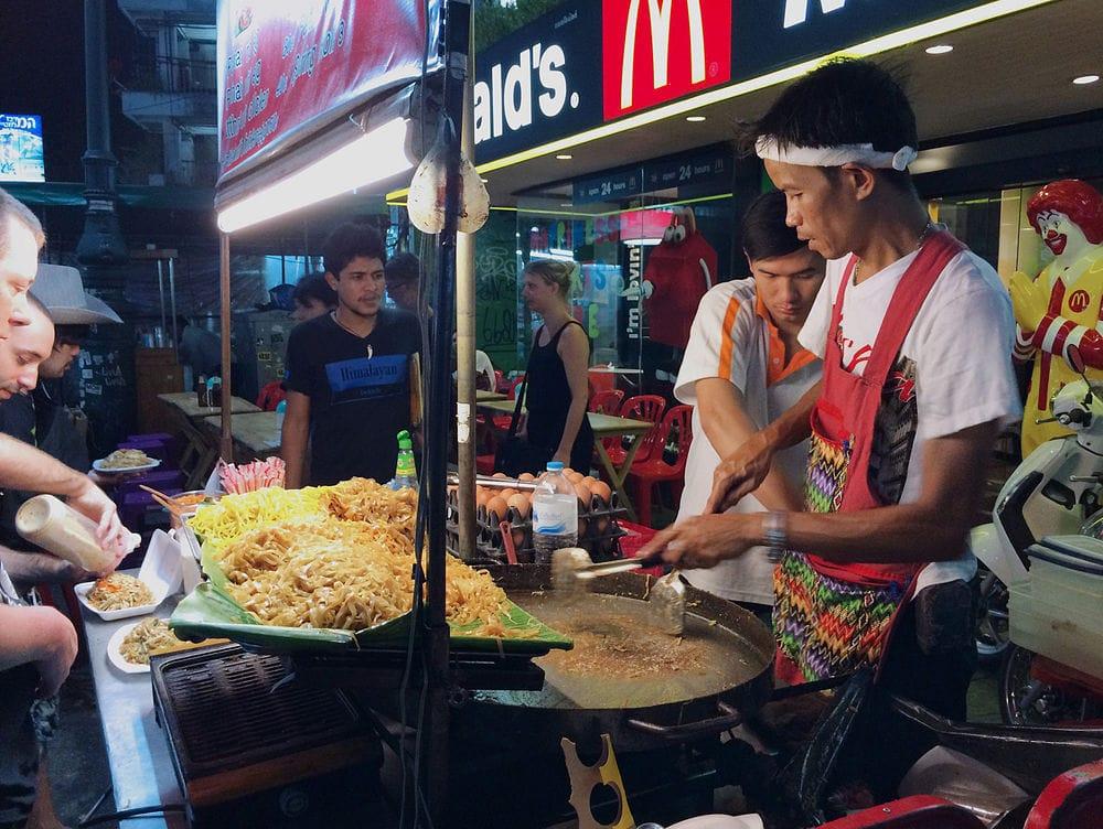 Où dormir à Bangkok ? : Quartier de Khao San Road
