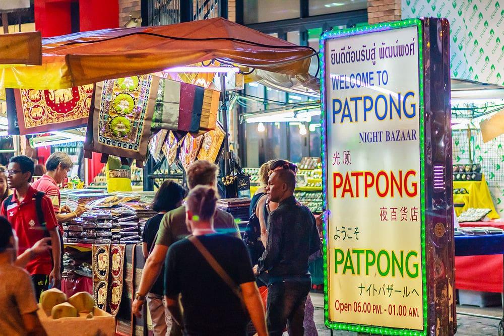 Où dormir à Bangkok ? : Quartier Patpong à Bangkok
