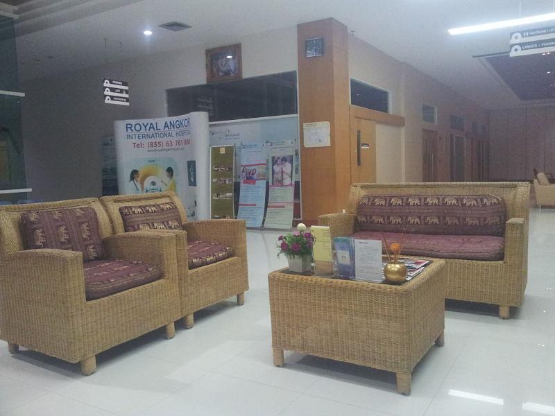 Assurance Chapka Avis: Accueil au Royal Angkor Hospital