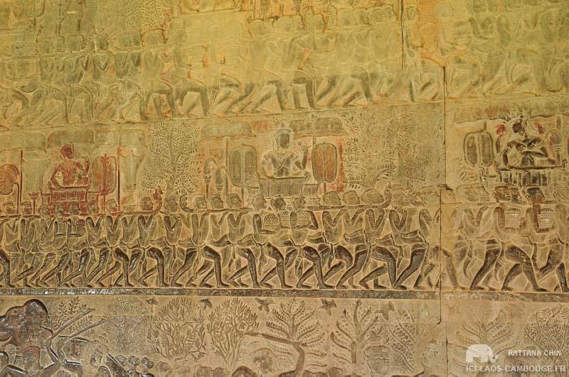 Scène mythologique Angkor