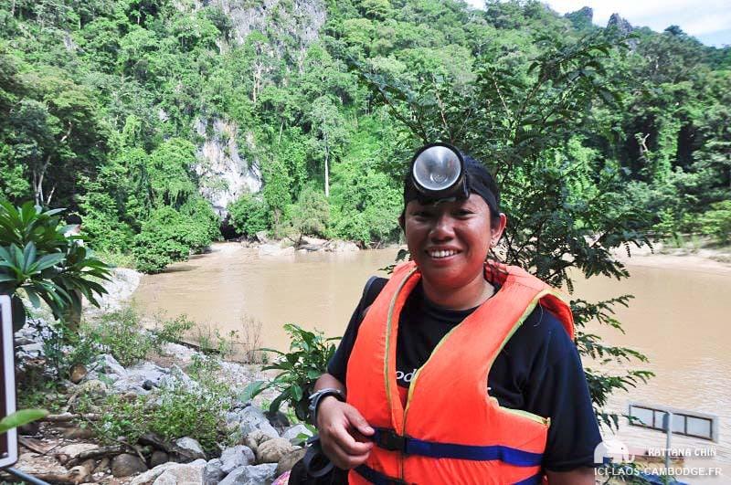 Entrée grotte de Konglor - Laos