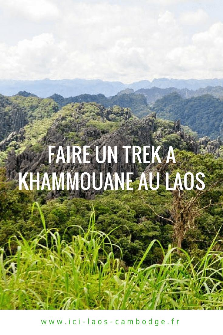 Faire un trek à Khammouane