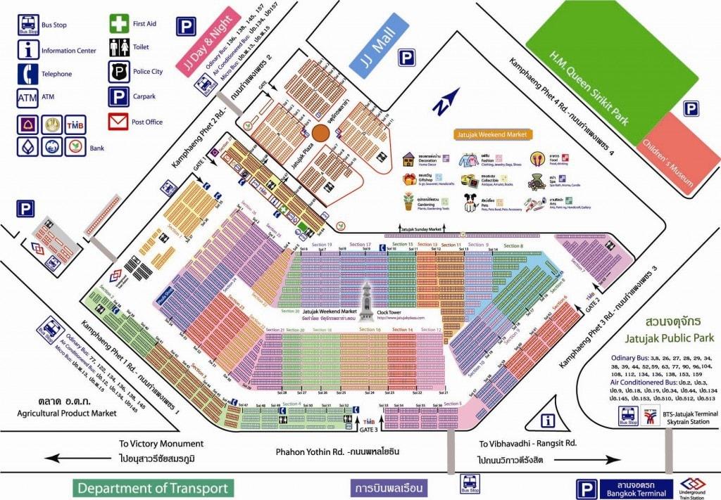 Plan de Chatuchak