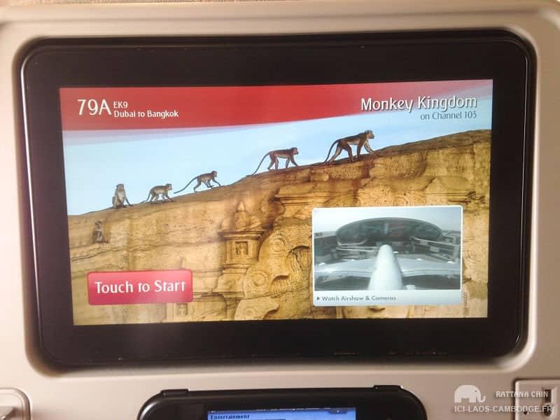 Ecran 10 pouces Emirates