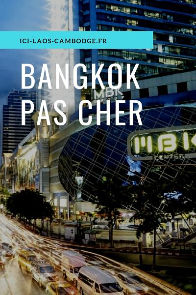 Bangkok pas cher