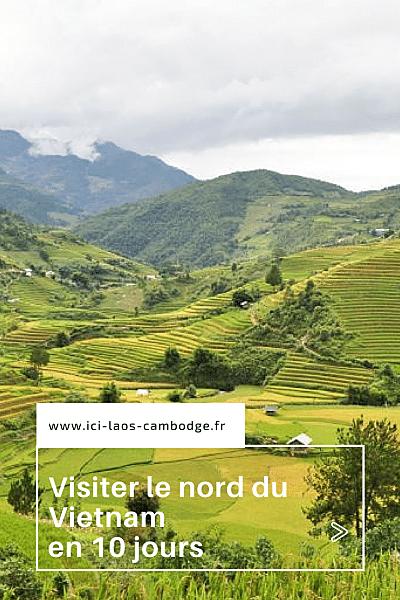Visiter le nord du Vietnam en 10 jours