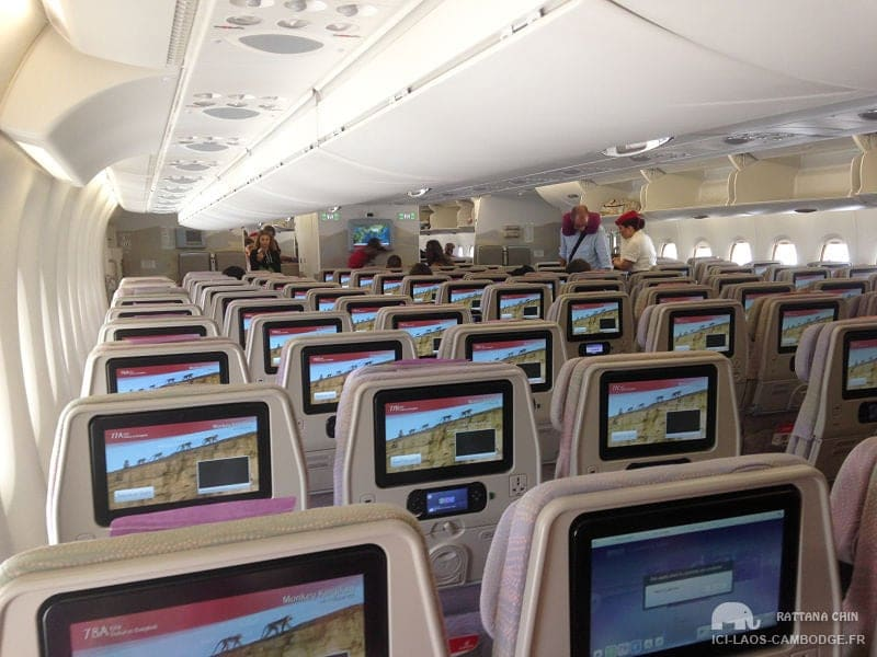 Sièges a380 Emirates