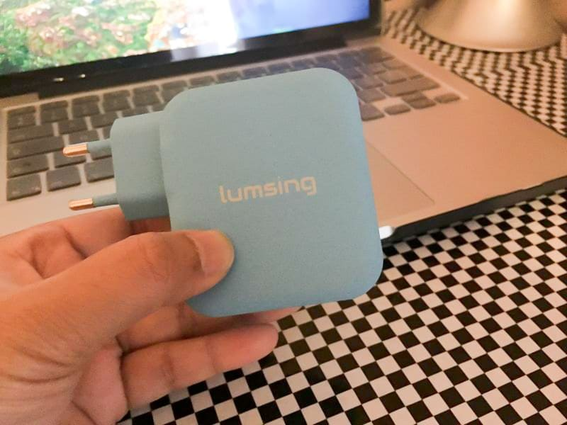 Chargeur Lumsing 4USB - face