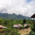 Maisons alentours Vang Vieng