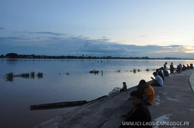 Coucher de soleil Vientiane