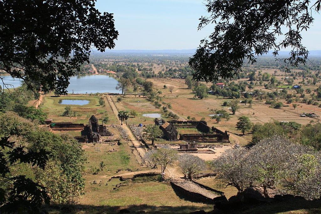 Vue sur Vat Phou