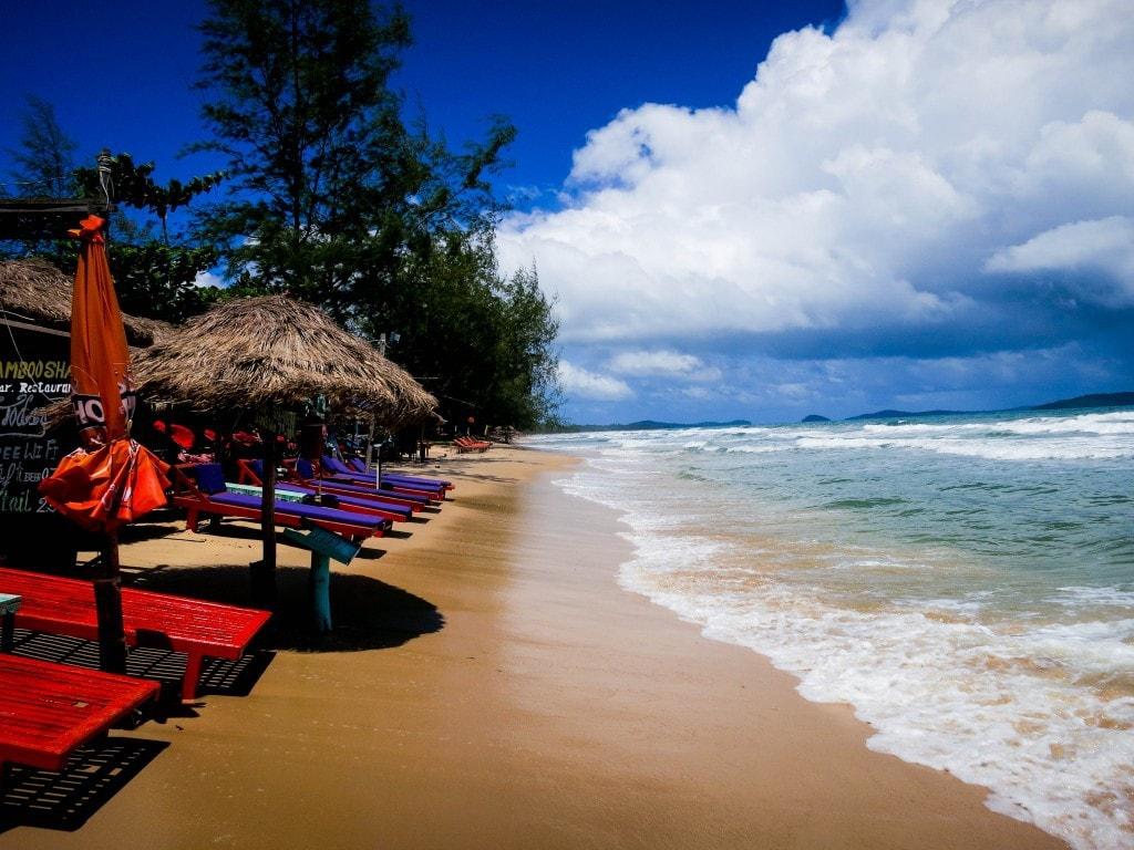 Otres Beach à Sihanoukville