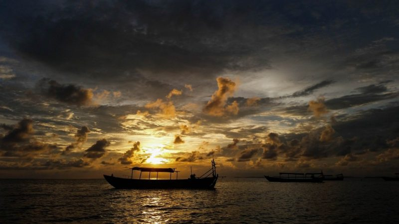 Coucher de soleil Sihanoukville