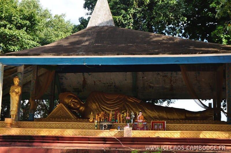 Bouddha couché Ban Lung