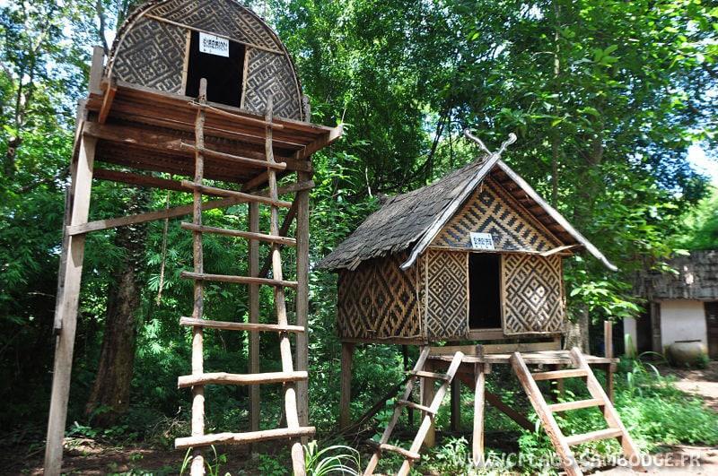 Maisons tribu Kreung